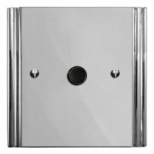 Plaza Flex Outlet Polished Chrome & Black Trim