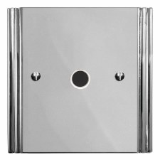 Plaza Flex Outlet Polished Chrome & White Trim