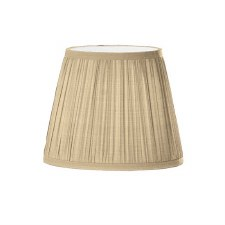 Franklite Candle Clip Lampshades Pleated Beige