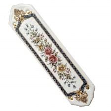 Porcelain Finger Plate Victoriana