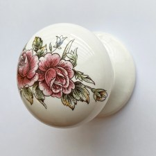 Porcelain Door Knobs 57mm Victoriana