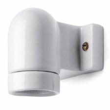 Porcelain Angle Wall Light White