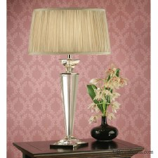 Interiors 1900 Porter Rhodes Table Lamp Beige Shade