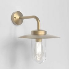 Portree Wall Light Coastal Range Natural Brass