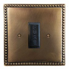 Regency Fused Spur Connection Unit 13 Amp Hand Aged Brass