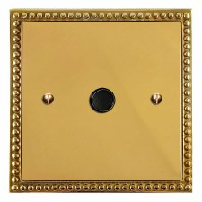 Regency Flex Outlet Polished Brass Unlacquered