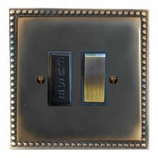 Regency Switched Fused Spur Dark Antique Relief