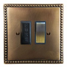 Regency Switched Fused Spur Hand Aged Brass