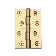 Heritage Hinge PR88-405 Polished Brass