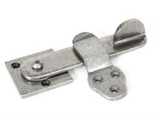 From The Anvil Privacy Door Latch Set Pewter