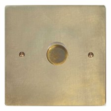 Victorian Dimmer Switch 1 Gang Antique Satin Brass