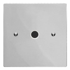 Victorian Flex Outlet Polished Chrome & White Trim