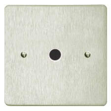 Victorian Flex Outlet Satin Nickel