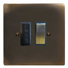 Victorian Switched Fused Spur Dark Antique Relief