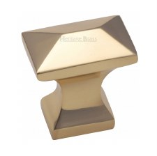 Heritage Pyramid Knob C2232 Polished Brass