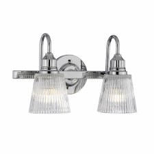Quintessentiale Addison Double Wall Light Polished Chrome