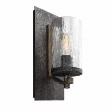 Quintessentiale Angelo Wall Light Slate Grey & Weathered Oak