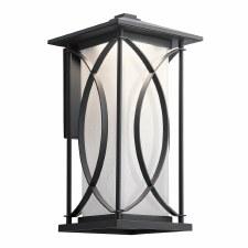 Quintessentiale Ashbern Large Wall Lantern Black