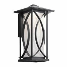 Quintessentiale Ashbern Medium Wall Lantern Black