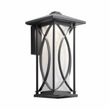 Quintessentiale Ashbern Small Wall Lantern Black
