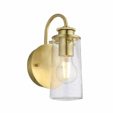 Quintessentiale Braelyn Single Wall Light Brushed Brass