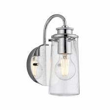 Quintessentiale Braelyn Single Wall Light Polished Chrome
