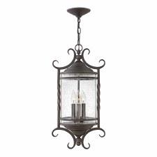 Quintessentiale Casa 2 Light Chain Lantern Olde Black