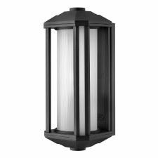 Quintessentiale Castelle Medium Lantern Black with Opal Glass