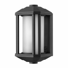 Quintessentiale Castelle Small Lantern Black with Opal Glass