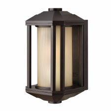 Quintessentiale Castelle Small Lantern Bronze with Amber Glass