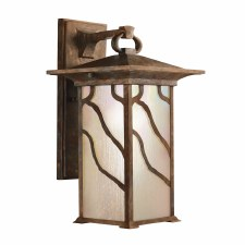 Quintessentiale Morris Large Wall Lantern Distressed Copper