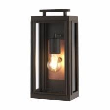 Quintessentiale Sutcliffe Single Light Lantern Oil Rubbed Bronze with Copper Reflector