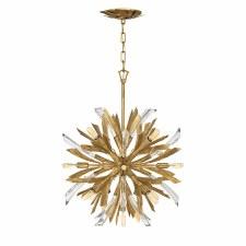 Quintessentiale Vida 13 Light Small Pendant Burnished Gold