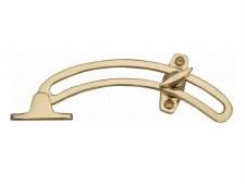 Heritage Quadrant Stay V1118 Polished Brass