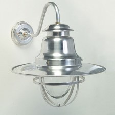 Quayside Outdoor Wall Light Lantern Aluminium