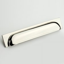 Armac Queslett Pull Handle 203mm Polished Nickel