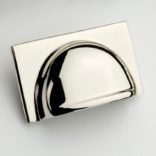 Armac Queslett Drawer Pull 40mm Polished Nickel