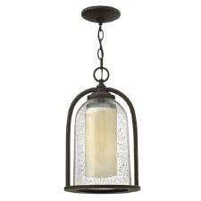 Hinkley Quincy Chain Lantern Oil Rubbed Bronze