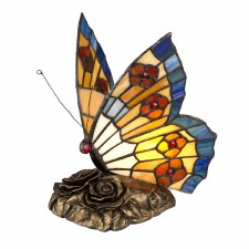 Quoizel Butterfly Tiffany Lamp