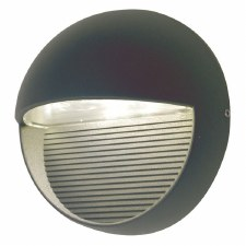 Elstread Freyr Round LED Outdoor Wall Light