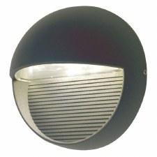 Elstread Freyr Round LED Outdoor Wall Light
