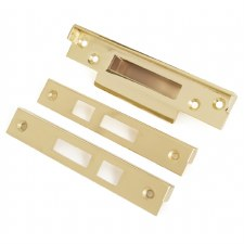 From The Anvil Rebate Kit for 5 Lever Sash Lock Electro Brass