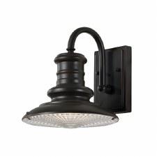 Feiss Redding Station Small Wall Lantern Restoration Bronze