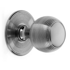 Croft Centre Door Knob 6407 Polished Chrome
