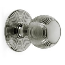 Croft Centre Door Knob 6407 Polished Nickel