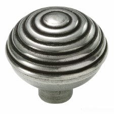 Finesse Beehive Cupboard Door Knob PCK003 Solid Pewter