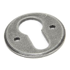 From The Anvil Regency Euro Escutcheon Pewter