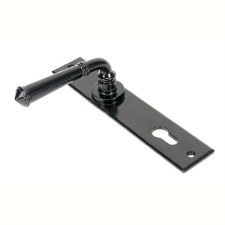 From The Anvil Regency Lever Espag Lock Set Black