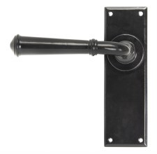 From The Anvil Regency Lever Latch Door Handle Black