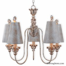 Flambeau Remi 5 Arm Chandelier